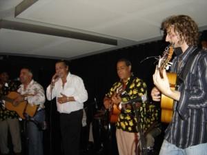 Jamming with The Gipsy Kings - Soho, London