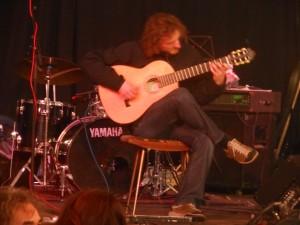 Ruigoord concert solo guitar